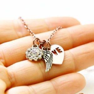 Angel Wing Necklace/Bracelet/Anklet, Handmade 🌸